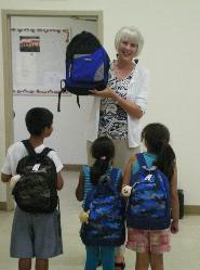 Bless the Kids Back Pack Outreach