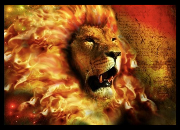 Lion of Judah words Conquering Lion Of Judah