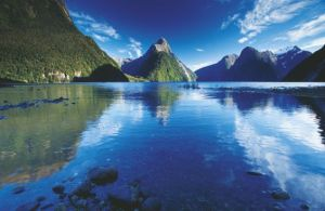 The glorious scenery of Milford Sound