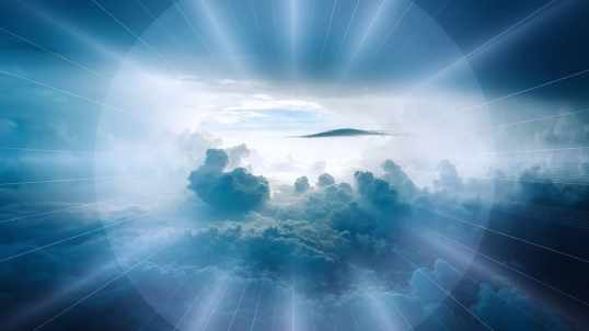 Gate of Heaven clouds